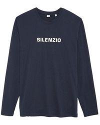 Kiton Silenzio T-Shirt - Bleu