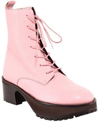 BY FAR Ankle Boots 21Pfcbbpogrl Rosa