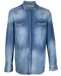 Dondup Shirts - Blauw
