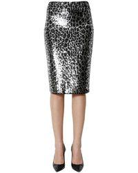 Michael Kors Tubine Skirt - Grijs