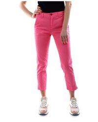 40weft Melita 5215 50906 Pants Women Rosa - Roze
