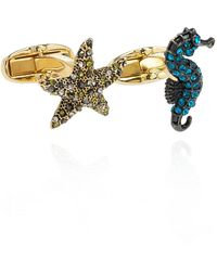 Paul Smith Embellished Cufflinks - Geel