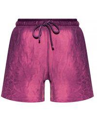 Cotton Citizen Sweat Shorts With Pockets - Roze