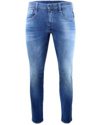 Church's Anbass Hyperflex Bi-Stretch Blue Denim Jeans