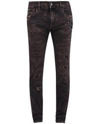 Dolce & Gabbana Slim Fit Jeans - Bruin