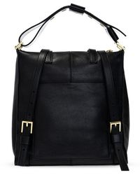 AllSaints Lawrence backpack - Nero