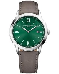 Baume & Mercier Classima Watch - Groen