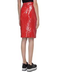 Dondup Sequins Skirt - Rosso