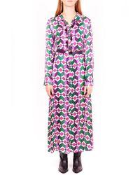 Motel Dress w21a345 - Rose