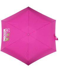 Moschino Accessories fuchsia umbrella - Rose