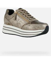 Geox Flat shoes - Neutre