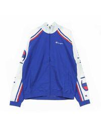 Champion Track Jacket Track Top Full Zip - Blauw