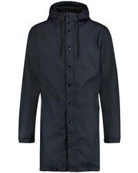 Kultivate Jacket Let It Rain - Blauw
