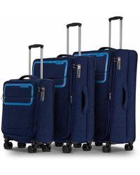 Conwood Pulse Medieval Blue Suitcase Set - Blauw