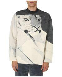KENZO - High Neck Sweatshirt - Lyst
