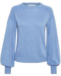 Inwear Balloon sleeve sweater - Azul