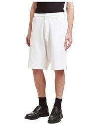 P.A.R.O.S.H. Oversized Bermuda Shorts - Bianco