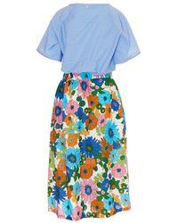 Souvenir Clubbing Dress - Bleu