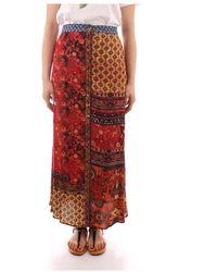 Desigual 21Swfw27 Skirt - Braun