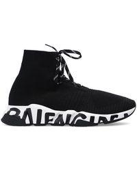 Balenciaga Speed sok Sneakers - Zwart