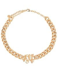 Palm Angels Chain Necklace Naranja