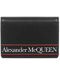 Alexander McQueen Portemonnee - Zwart