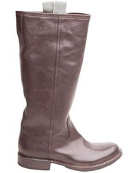 Loewe Vintage Boots - Marron