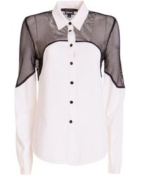 Just Cavalli Long-sleeved Shirt - Wit