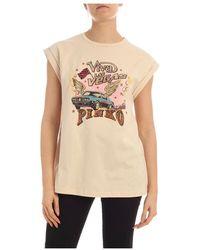Pinko T-shirt - Naturel