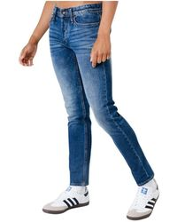 Denham Razor Acdbl Jeans - Blauw