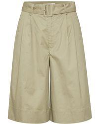 Gestuz Shorts - Vert