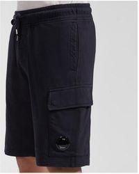 C.P. Company Cargo Shorts - Nero