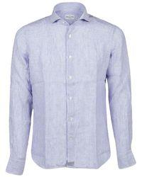 Bagutta - Shirt - Linen Shirt - Lyst