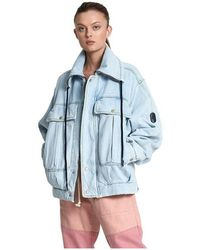 One Teaspoon Puffa Jacket - Blauw