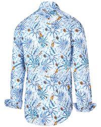 BLUE INDUSTRY Shirt 2046.21 Azul