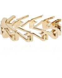 Zadig & Voltaire Set of three rings Amarillo