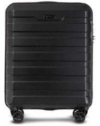 Conwood Carmel 55 Cm Black Cabin Suitcase - Zwart