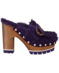 Dolce & Gabbana Mules - Blauw