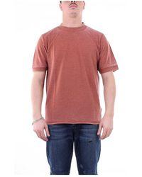 Alpha Studio Au2550c Short Sleeve T-shirt - Rood