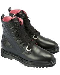 Blumarine Lace-up shoe - Noir
