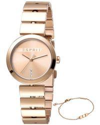Esprit Watch Ur - Es1l079m0035 - Geel
