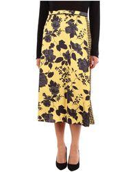Jucca J3025011 Long Skirt - Geel