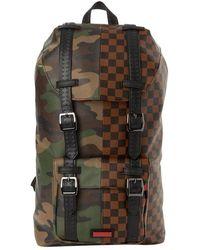 Sprayground Camouflage Backpack - Bruin