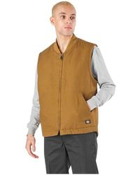 Dickies - Sherpa Lined Duck Vest - Lyst