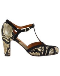 Chie Mihara High-heeled Leather Pumps F - Groen