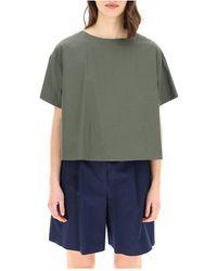 Throwback. T-shirt - Groen