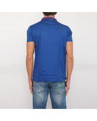 Trussardi T-Shirt Polo Azul