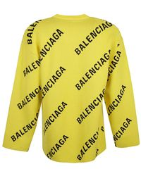 Balenciaga Suéter Amarillo