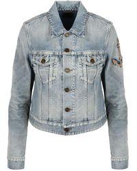 Castaner Boyfriend Denim Jacket - Blauw