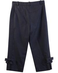Louis Vuitton Pantalon court - État d'occasion Très bon - Noir
